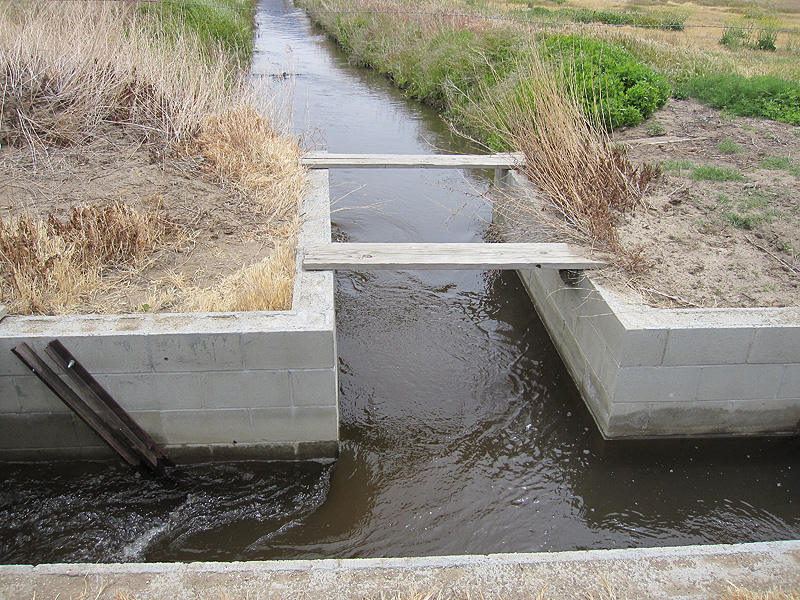 Canal Diversion Structure